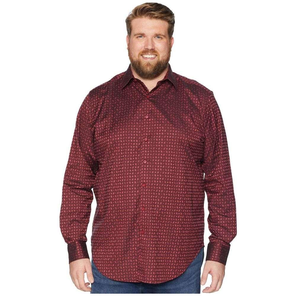 ロバートグラハム Robert Graham メンズ トップス シャツ【Big & Tall Harris Shirt】Burgundy (Big)