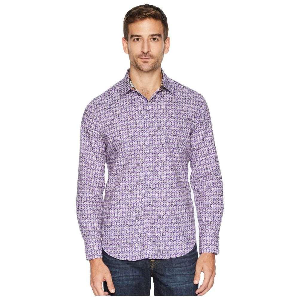 ロバートグラハム Robert Graham メンズ トップス シャツ【Tresco Sports Shirt】Purple