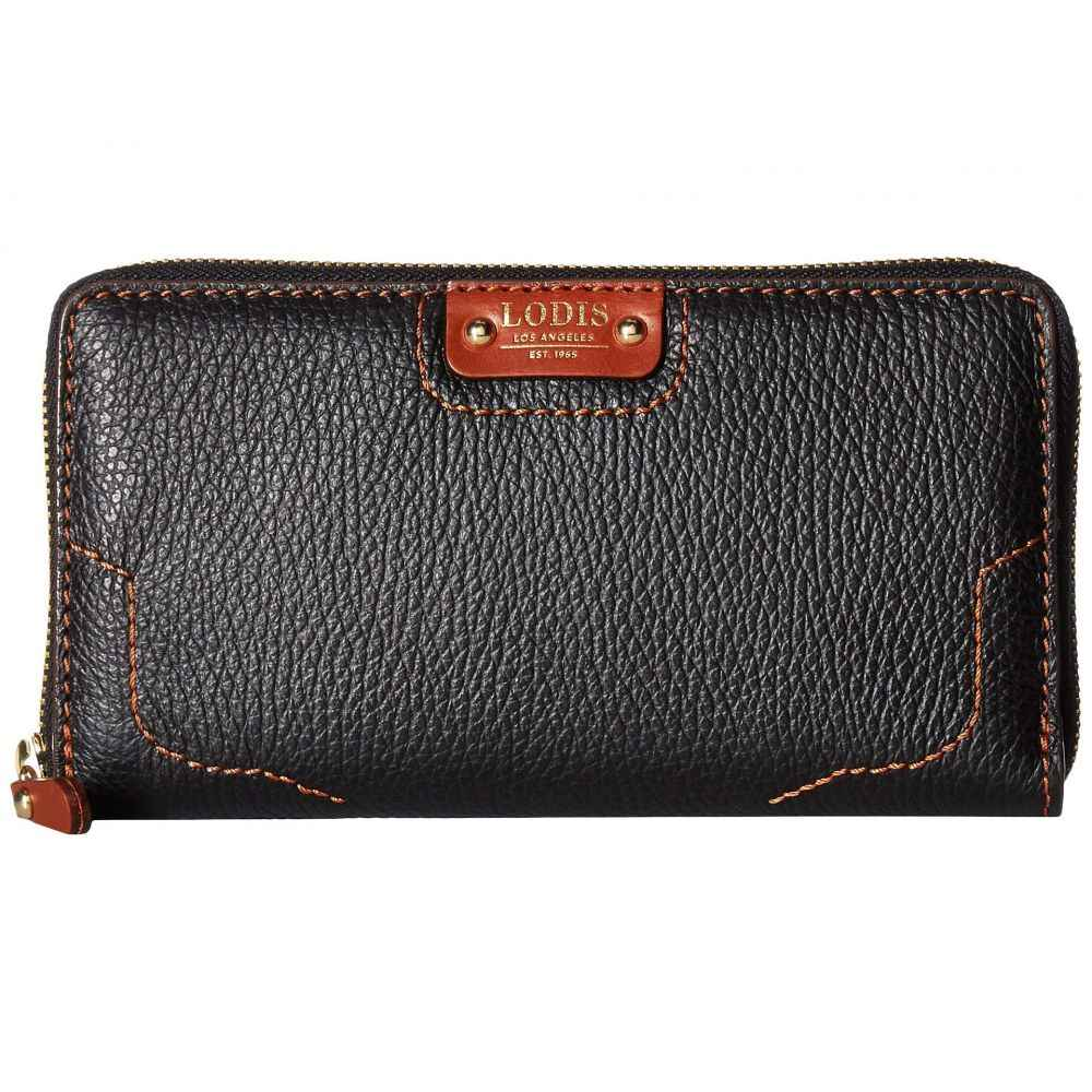 ロディス アクセサリー Lodis Accessories レディース 財布【Rodeo RFID Perla Zip Wallet】Black/Sequoia