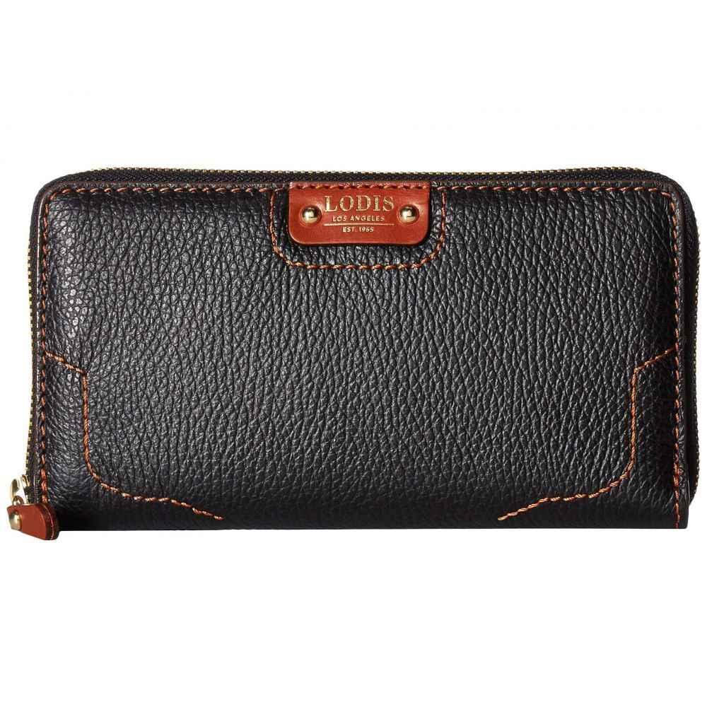 ロディス アクセサリー Lodis Accessories レディース 財布【Rodeo RFID Perla Zip Wallet】Black/Sequoia