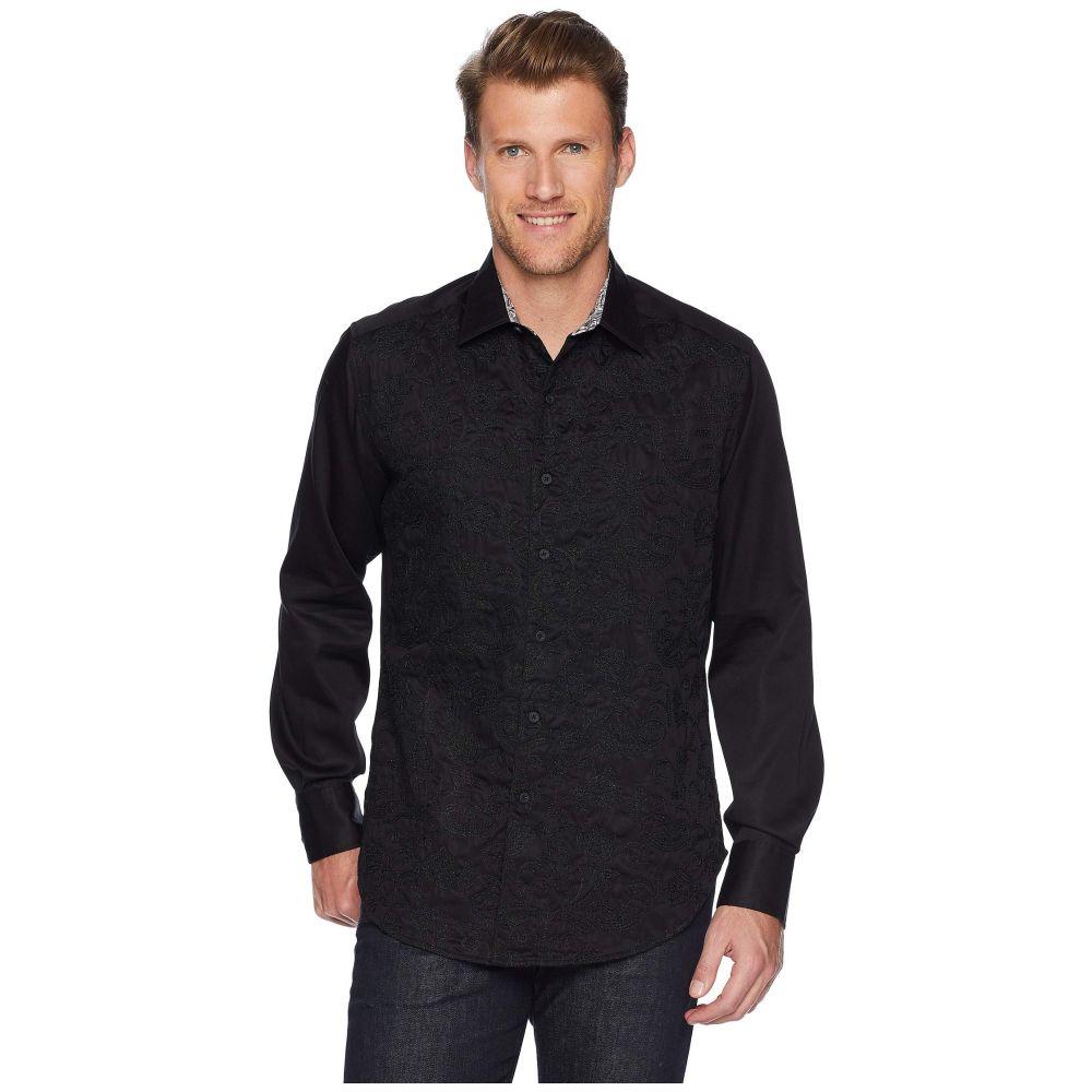 ロバートグラハム Robert Graham メンズ トップス シャツ【Henderson Long Sleeve Woven Shirt】Black