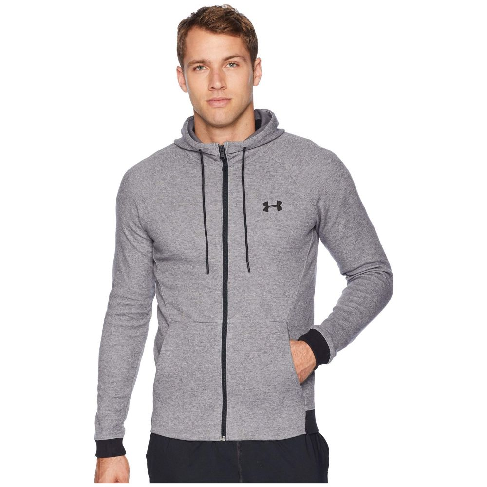 アンダーアーマー Under Armour メンズ トップス【Unstoppable 2X Knit Full Zip】Steel/Black/Black