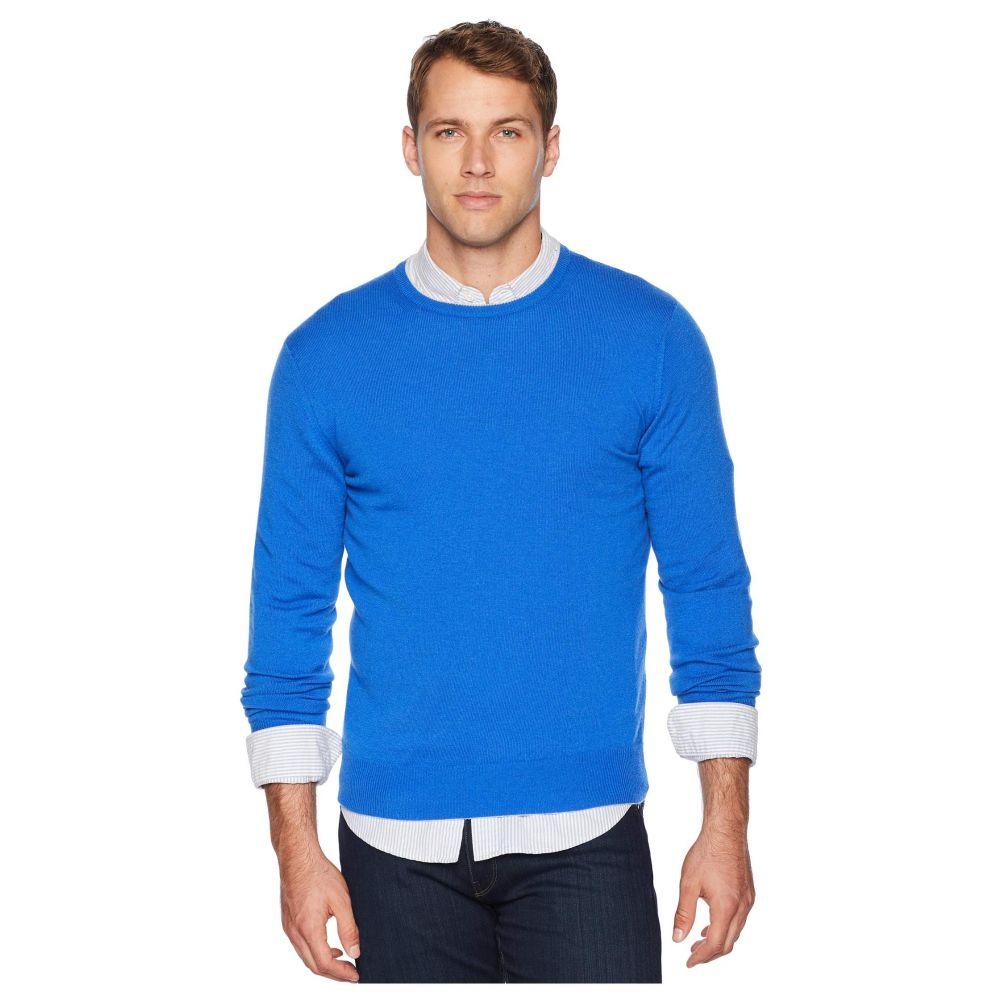 イレブンティ eleventy メンズ トップス ニット・セーター【Cashmere Knit Crew Neck Sweater】Blue