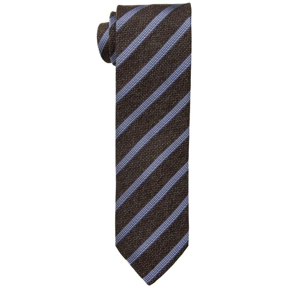 イートン Eton メンズ ネクタイ【Stripe Tie】Brown