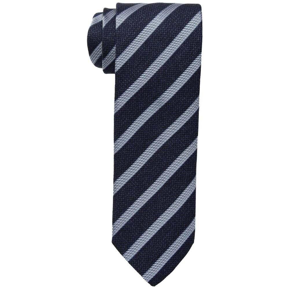 イートン Eton メンズ ネクタイ【Stripe Tie】Navy
