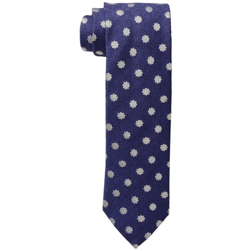 イートン Eton メンズ ネクタイ【Silk/Wool Medallion Tie】Purple