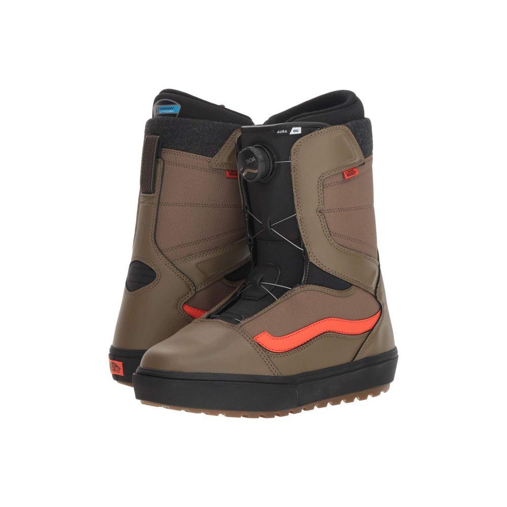 ヴァンズ Vans メンズ ハイキング・登山 シューズ・靴【Aura(TM) OG '18】Green/Orange