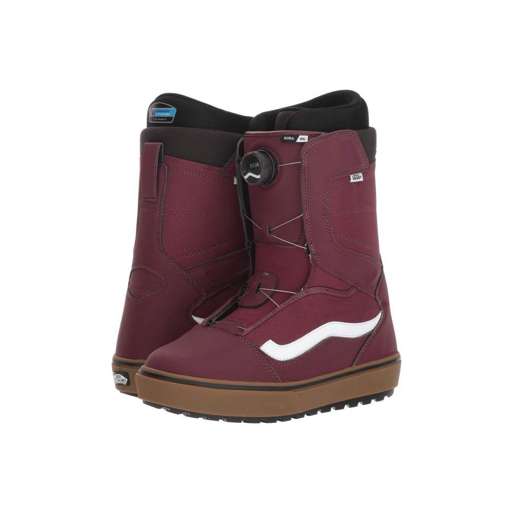 ヴァンズ Vans メンズ ハイキング・登山 シューズ・靴【Aura(TM) OG '18】Burgundy/Gum