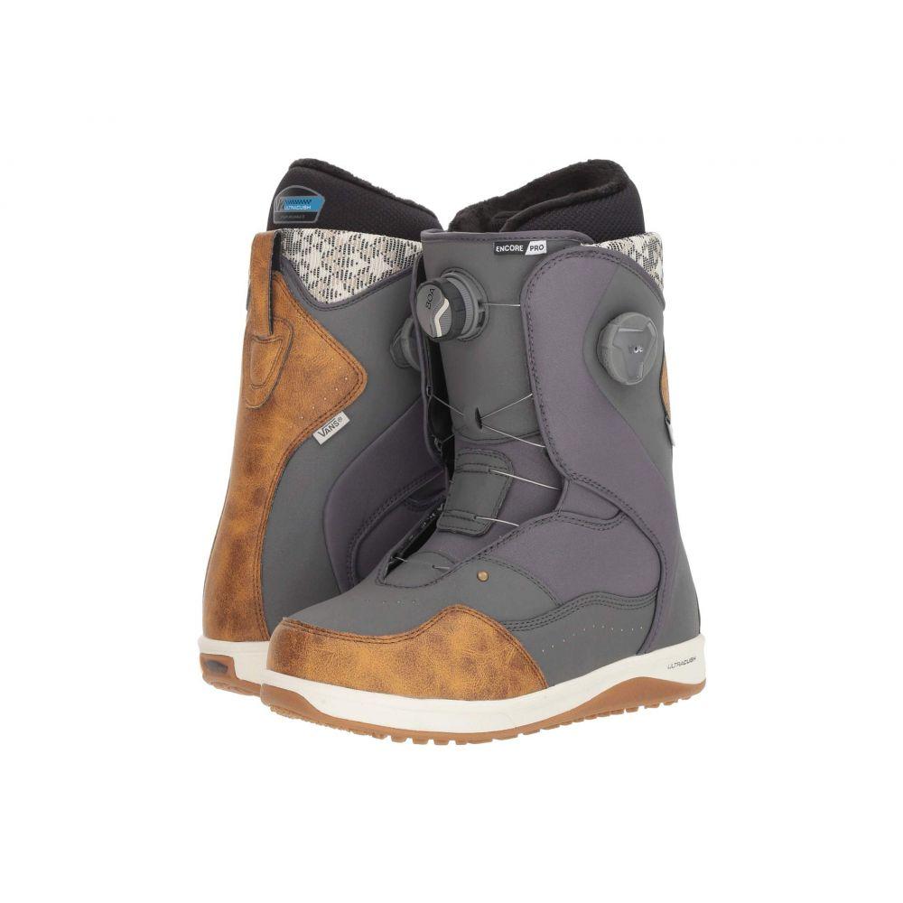 ヴァンズ Vans レディース ハイキング・登山 シューズ・靴【Encore(TM) Pro '18】Grey/Brown