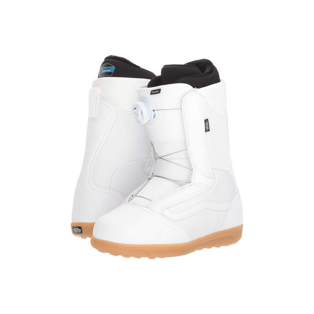 ヴァンズ Vans レディース ハイキング・登山 シューズ・靴【Encore(TM) '18】White/Gum