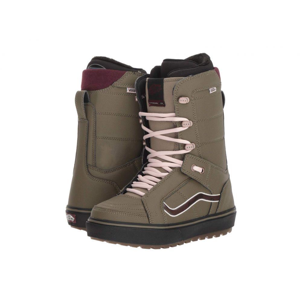 ヴァンズ Vans レディース ハイキング・登山 シューズ・靴【Hi-Standard(TM) OG '18】Green/Burgundy