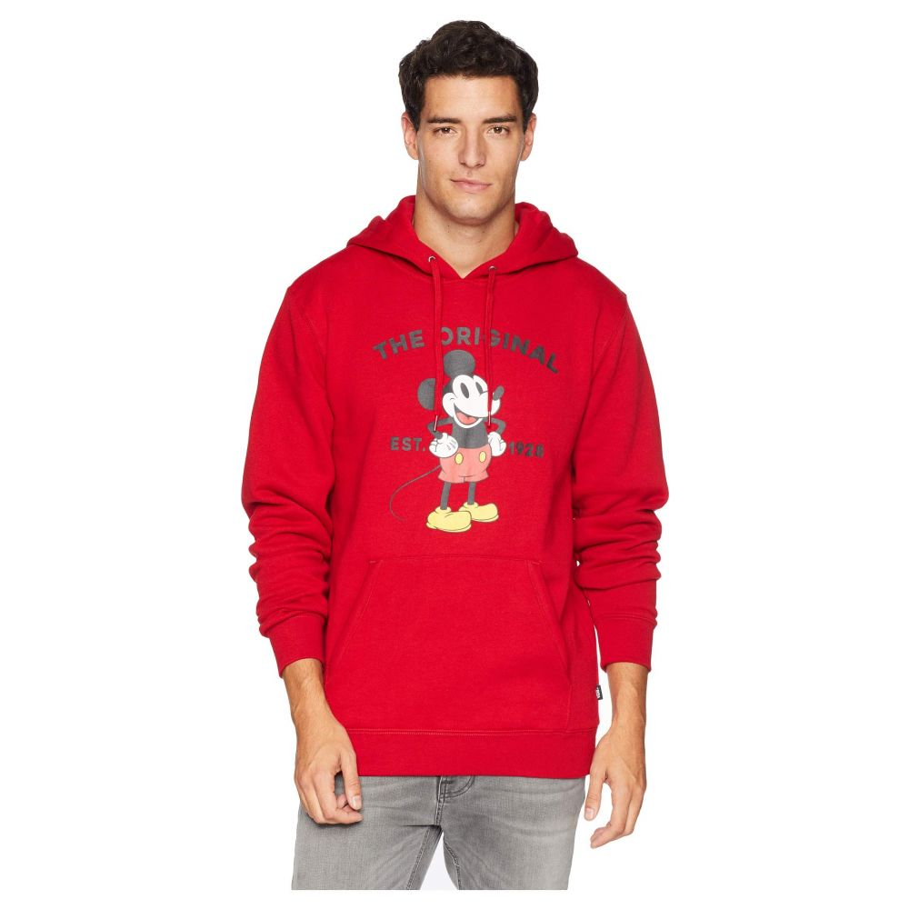 ヴァンズ Vans メンズ トップス フリース【Mickey's 90th Classic Pullover Fleece】Chili Pepper