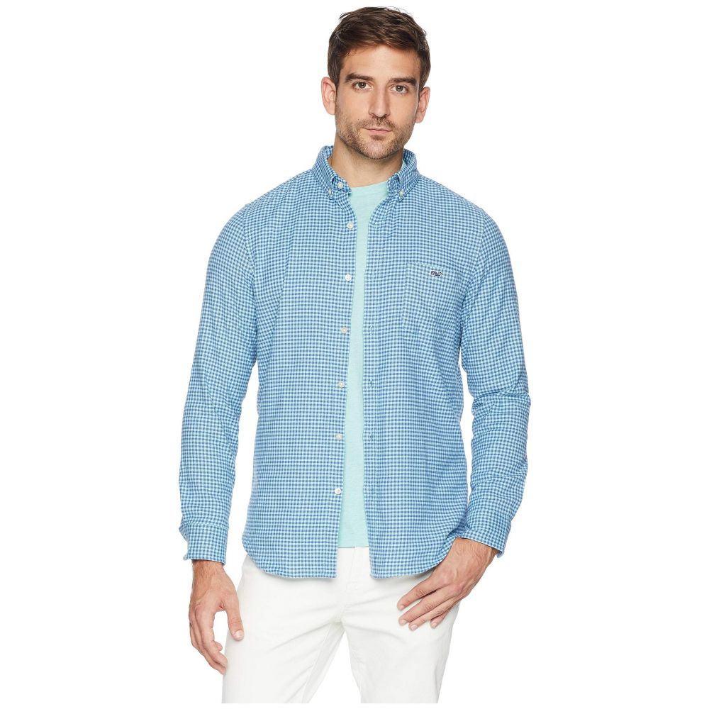 ヴィニヤードヴァインズ Vineyard Vines メンズ トップス シャツ【Tradewinds Flannel Slim Tucker Shirt】Pool Side