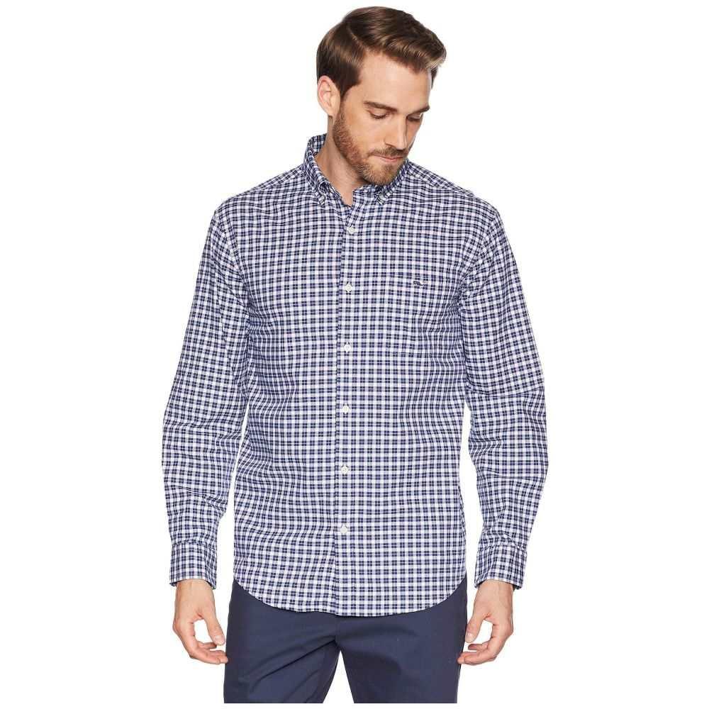 ヴィニヤードヴァインズ Vineyard Vines メンズ トップス シャツ【Eagle Hill Classic Tucker Shirt】Deep Bay