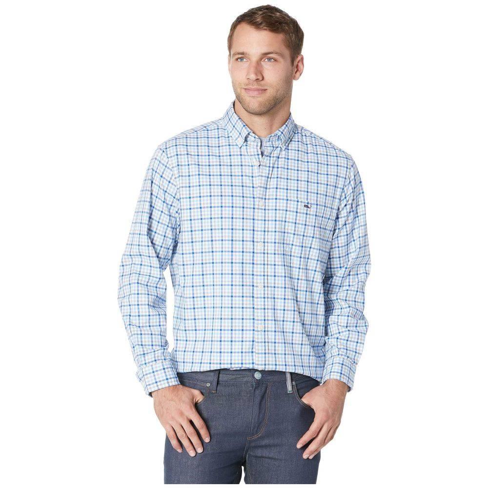 ヴィニヤードヴァインズ Vineyard Vines メンズ トップス シャツ【Pondview Plaid Classic Tucker Shirt】Ocean Breeze