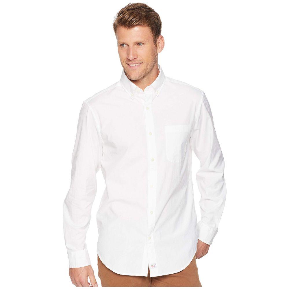ヴィニヤードヴァインズ Vineyard Vines メンズ トップス シャツ【End on End Classic Murray Shirt】White Cap