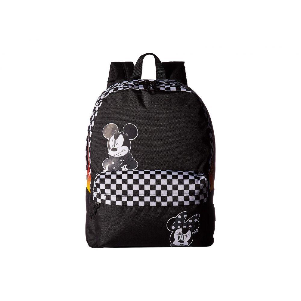 ヴァンズ Vans レディース バッグ バックパック・リュック【Mickey's 90th Punk Mickey Realm Backpack】Black