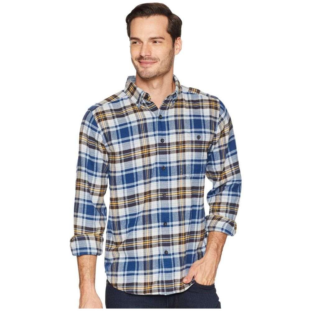 ウールリッチ Woolrich メンズ トップス シャツ【Trout Run Flannel Shirt】New Royal Blue Multi