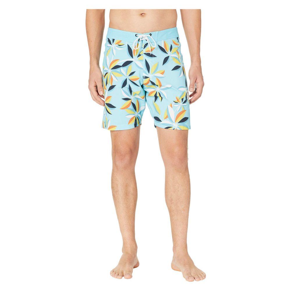 ヴィスラ VISSLA メンズ 水着・ビーチウェア 海パン【Montra Boardshorts 18.5'】Light Blue