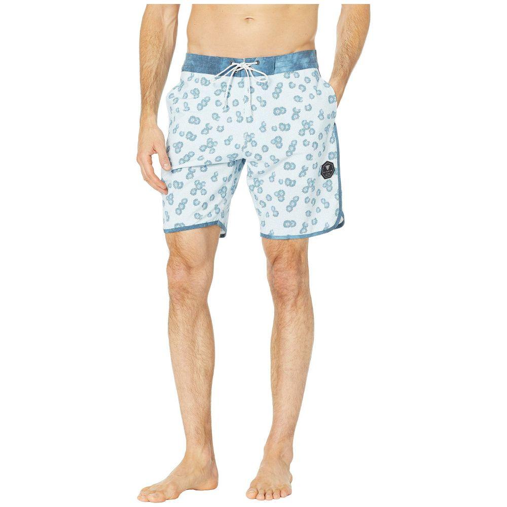 ヴィスラ VISSLA メンズ 水着・ビーチウェア 海パン【18.5' Honeybomb Swim Shorts】Cool Blue