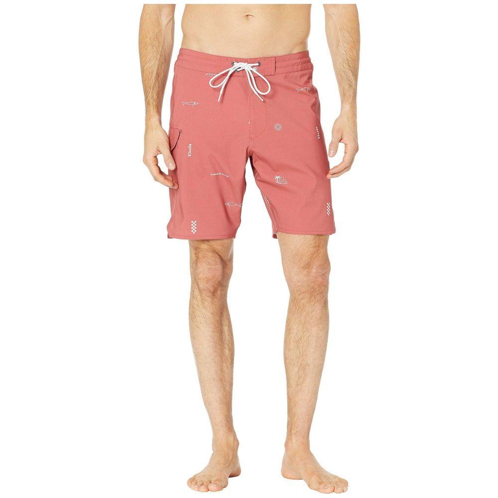 ヴィスラ VISSLA メンズ 水着・ビーチウェア 海パン【18.5' Gado Gadoo Swim Shorts】Plumeria