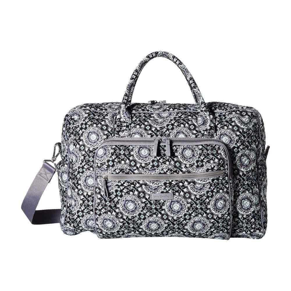 ヴェラ ブラッドリー Vera Bradley レディース バッグ ボストンバッグ・ダッフルバッグ【Iconic Weekender Travel Bag】Charcoal Medallion