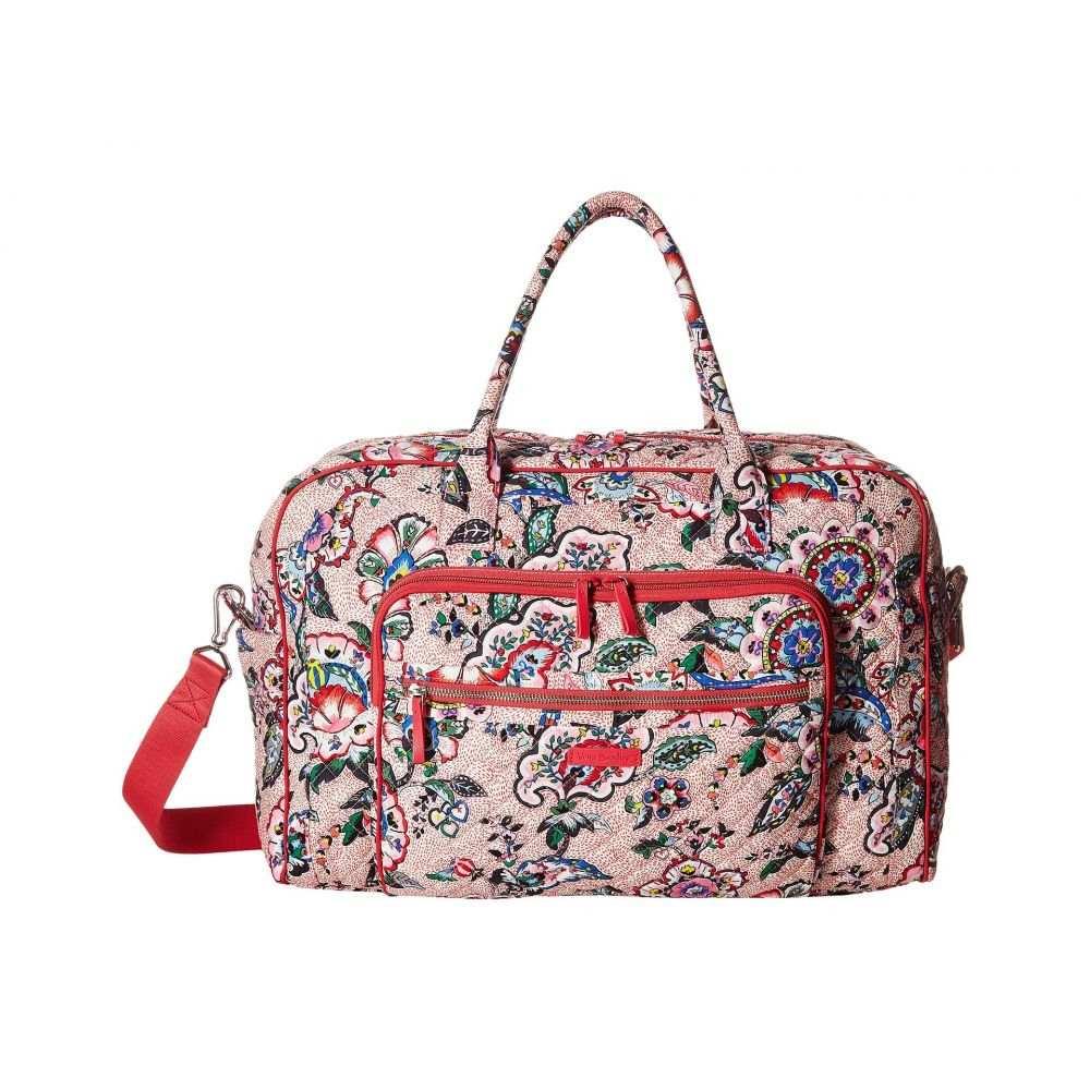 ヴェラ ブラッドリー Vera Bradley レディース バッグ ボストンバッグ・ダッフルバッグ【Iconic Weekender Travel Bag】Stitched Flowers