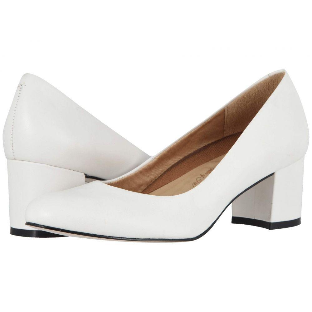 ウォーキング クレードル Walking Cradles レディース シューズ・靴 ヒール【Jessica】White Cashmere