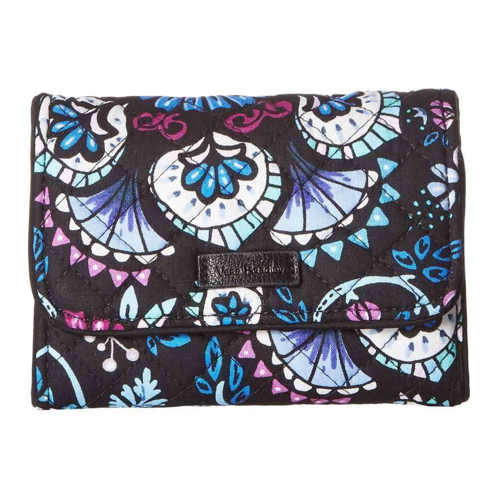 ヴェラ ブラッドリー Vera Bradley レディース 財布【Iconic RFID Riley Compact Wallet】Bramble