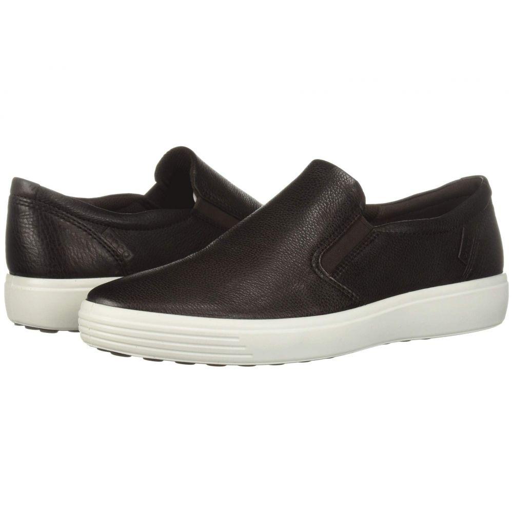 メンズスニーカー ECCO Soft 7 Sneaker Black Cow Leather ECCO