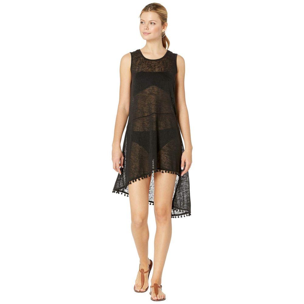 28da0200f1927 エコー Echo Design レディース 水着・ビーチウェア ビーチウェア Pom Pom Slub Tank Dress Black