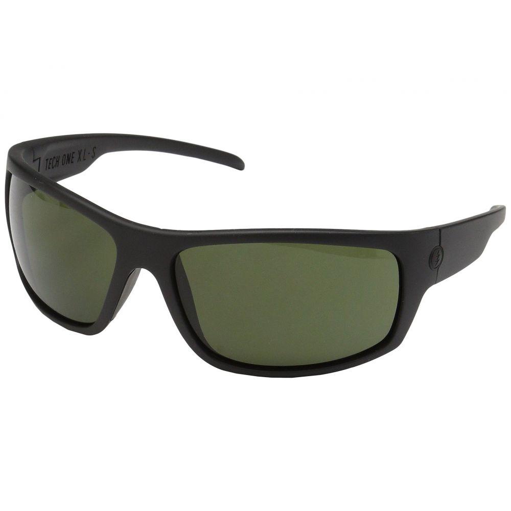エレクトリック Electric Eyewear メンズ メガネ・サングラス【Tech One XL-S】Matte Black/OHM Grey