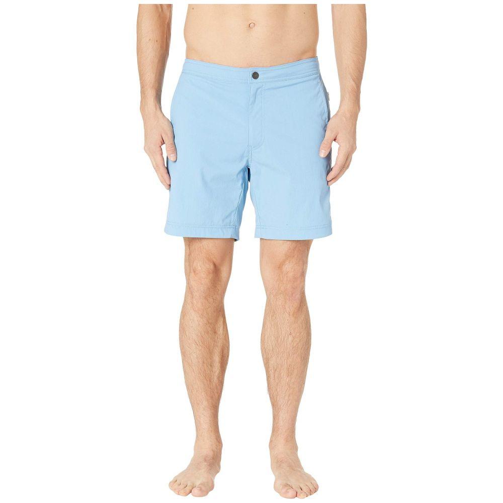 オニア onia メンズ 水着・ビーチウェア 海パン【Calder 7.5 Swim Shorts】Vintage Blue