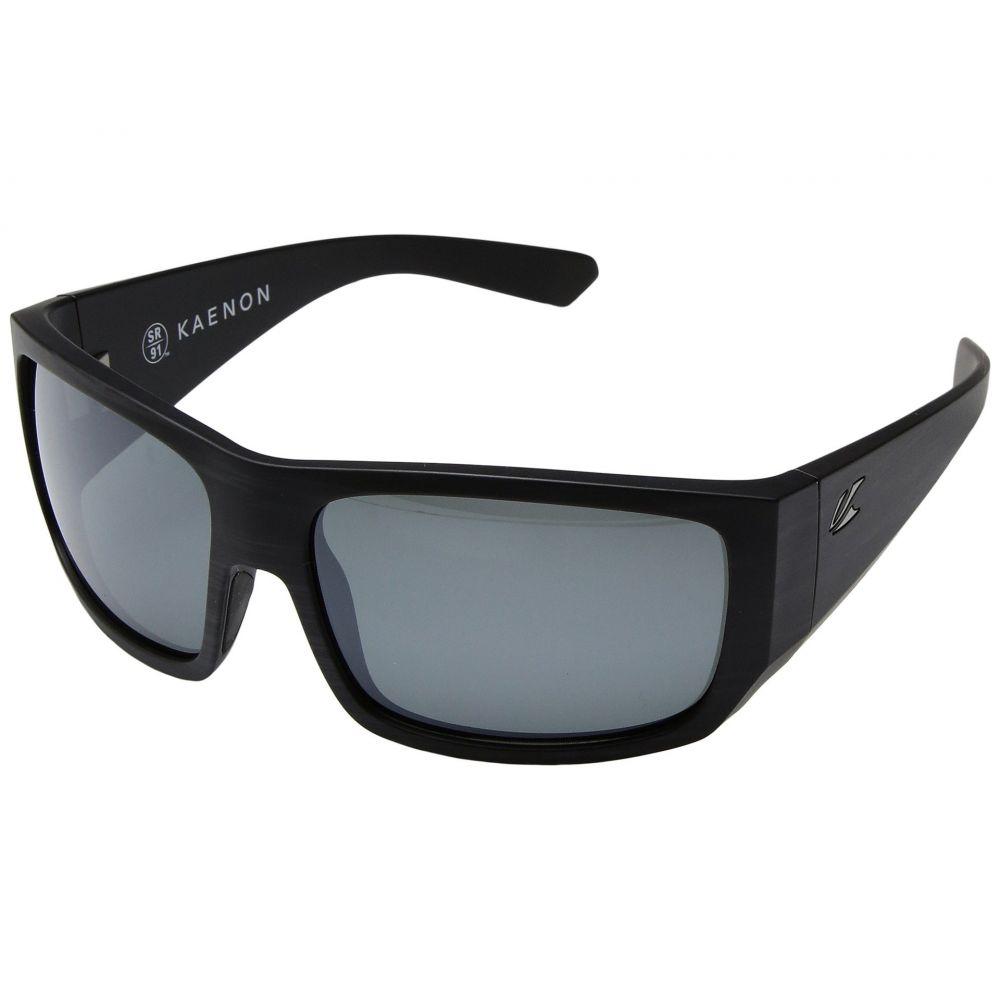 カエノン Kaenon メンズ メガネ・サングラス【Malaga】Pinstripe/Grey 12 Polarized Black Mirror
