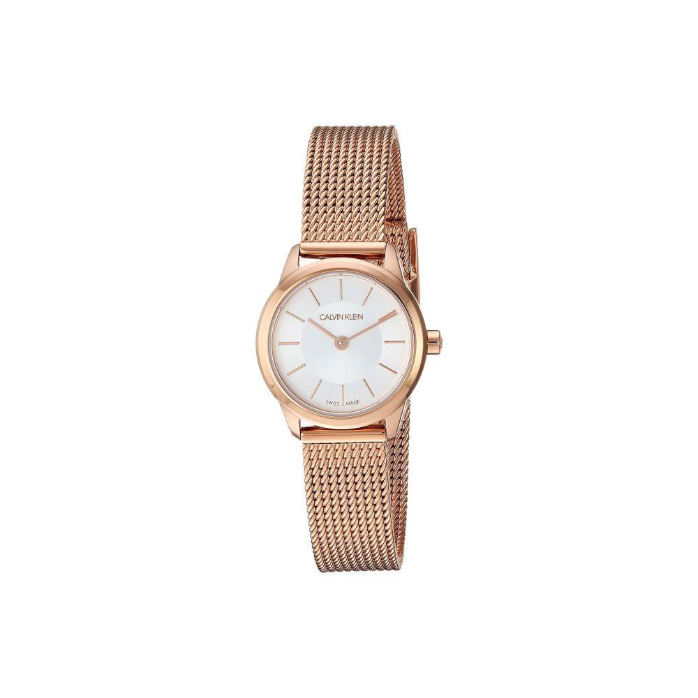 カルバンクライン Calvin Klein レディース 腕時計【Minimal Extension Watch - K3M23626】Silver/Rose Gold
