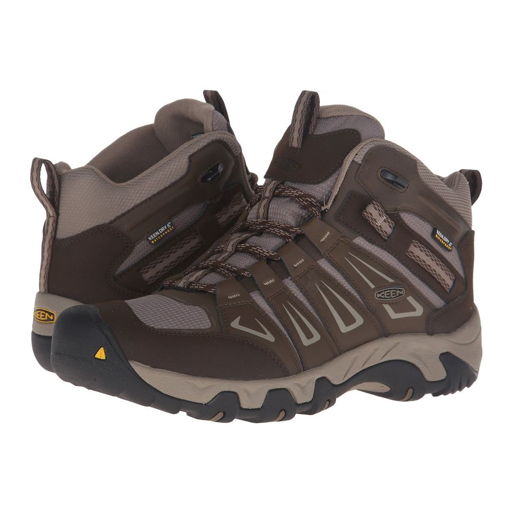 キーン Keen メンズ ハイキング・登山 シューズ・靴【Oakridge Mid Waterproof】Cascade/Brindle