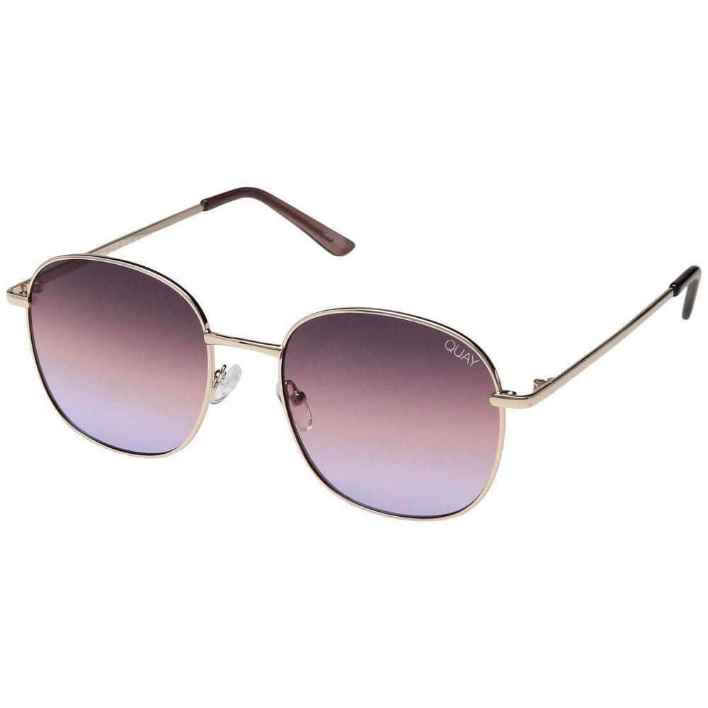 キー オーストラリア QUAY AUSTRALIA レディース メガネ・サングラス【Jezabell】Rose/Purple Pink Fade