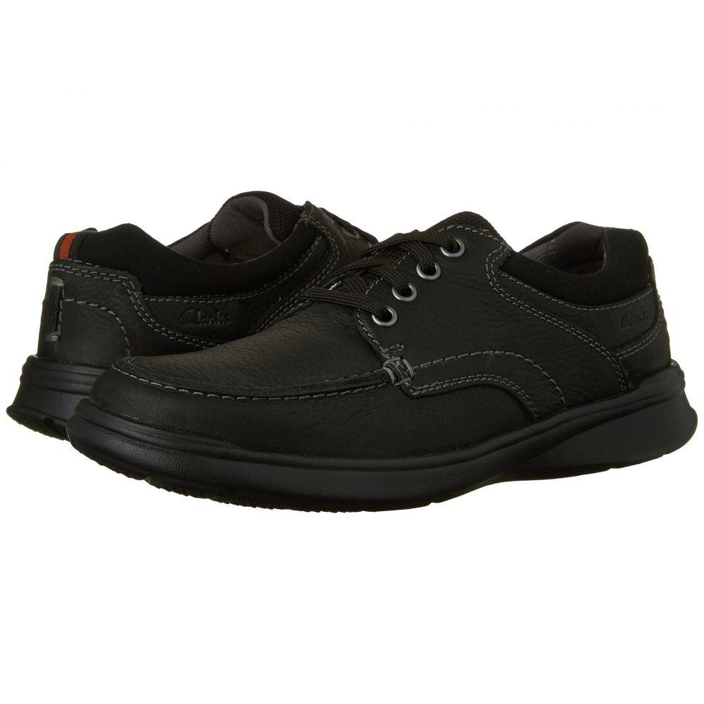 クラークス Clarks メンズ シューズ・靴 スニーカー【Cotrell Edge】Black Oily Leather