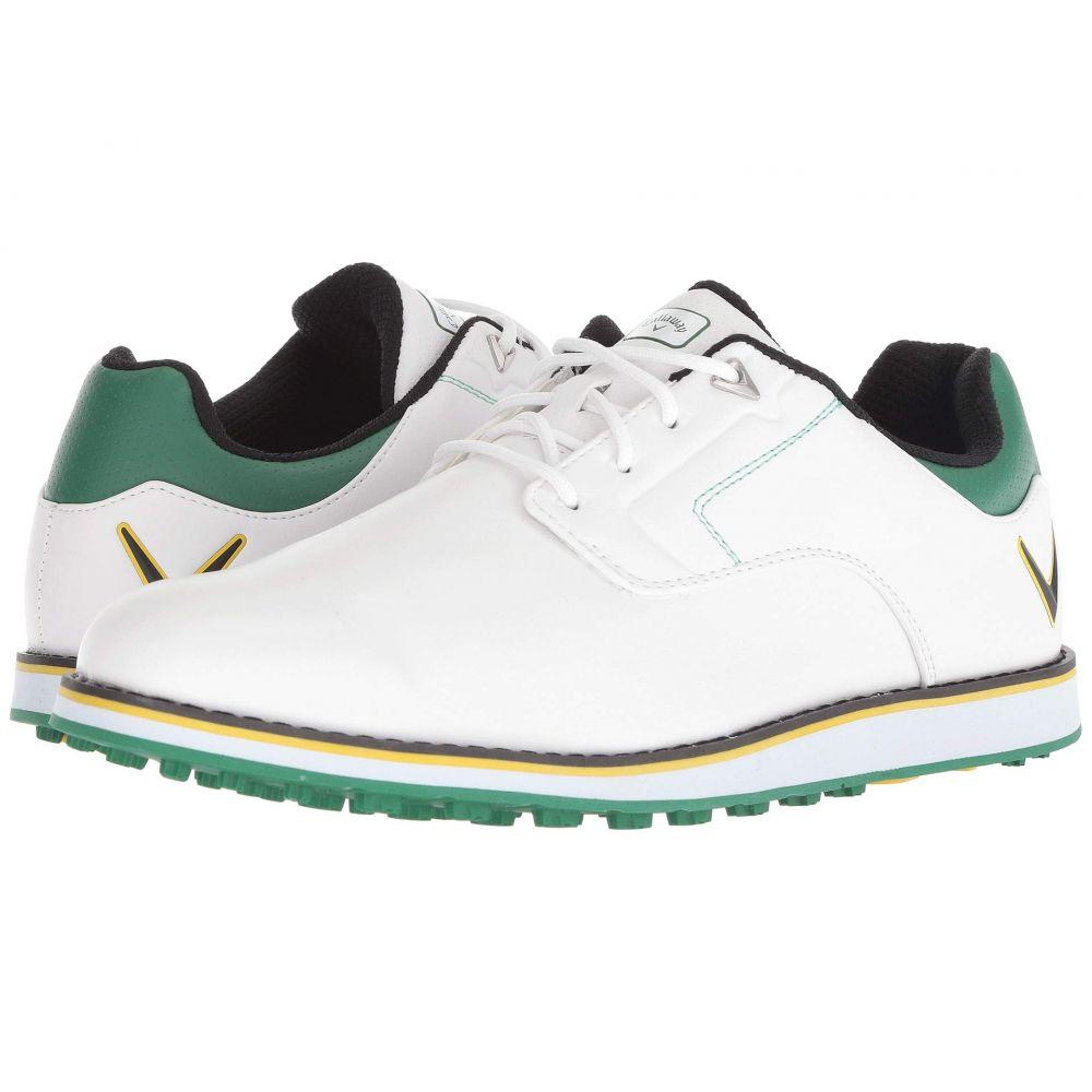 キャロウェイ Callaway メンズ シューズ・靴 スニーカー【La Jolla SL】White/Green