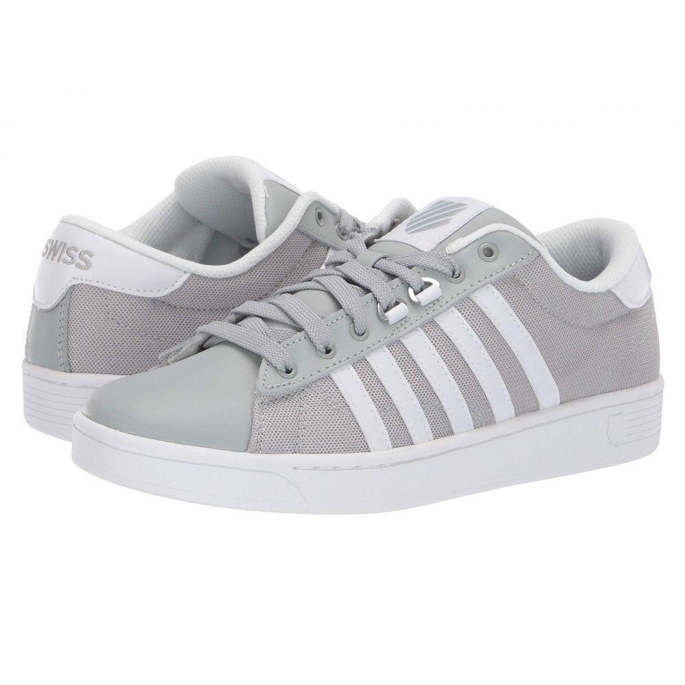 ケースイス K-Swiss レディース テニス シューズ・靴【Hoke T CMF】Mirage Gray/White