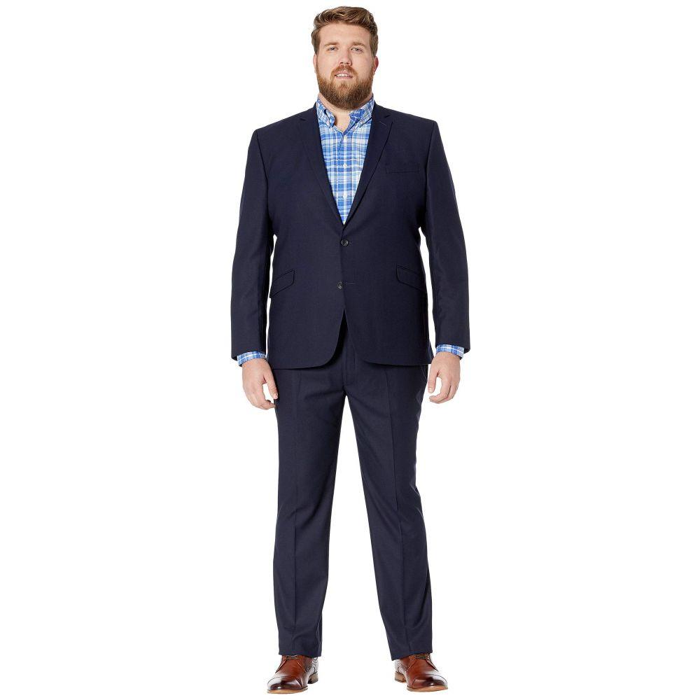 ケネス コール Kenneth Cole Reaction メンズ アウター スーツ・ジャケット【Big & Tall Techni-Cole Open Bottom Suits】Navy Check