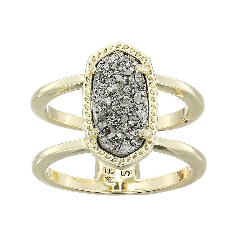 ケンドラ スコット Kendra Scott レディース ジュエリー・アクセサリー 指輪・リング【Elyse Ring】Gold/Platinum Drusy