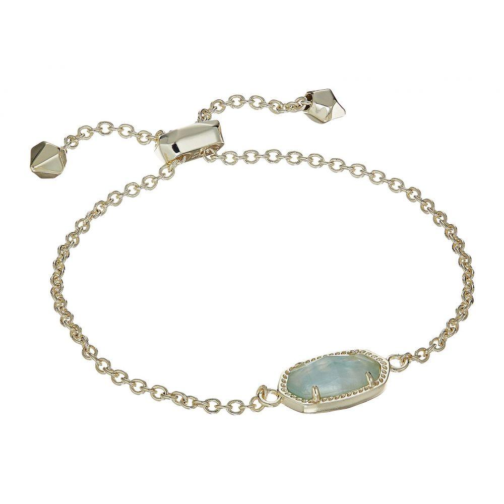 ケンドラ スコット Kendra Scott レディース ジュエリー・アクセサリー ブレスレット【Elaina Birthstone Bracelet】March/Gold/Light Blue Illusion