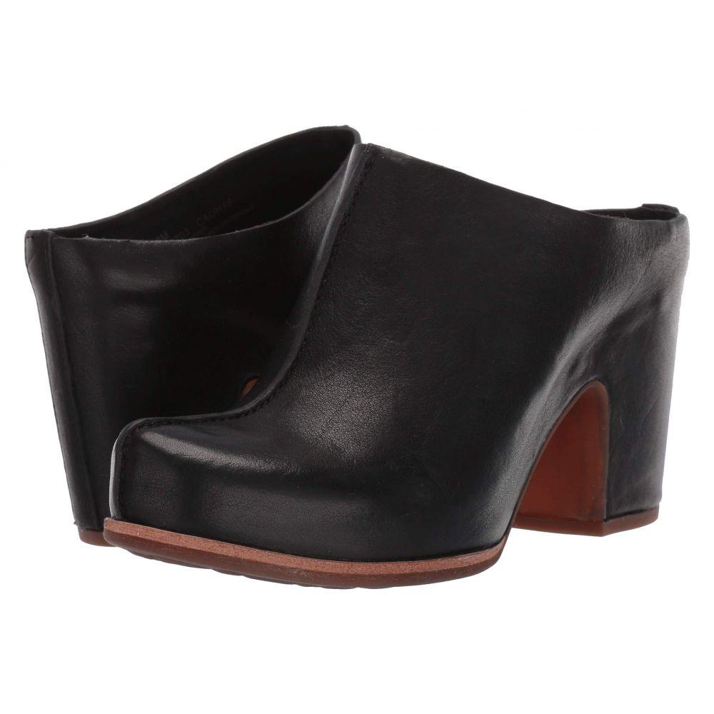 コークイーズ Kork-Ease レディース シューズ・靴 ヒール【Sagano】Black Full Grain Leather