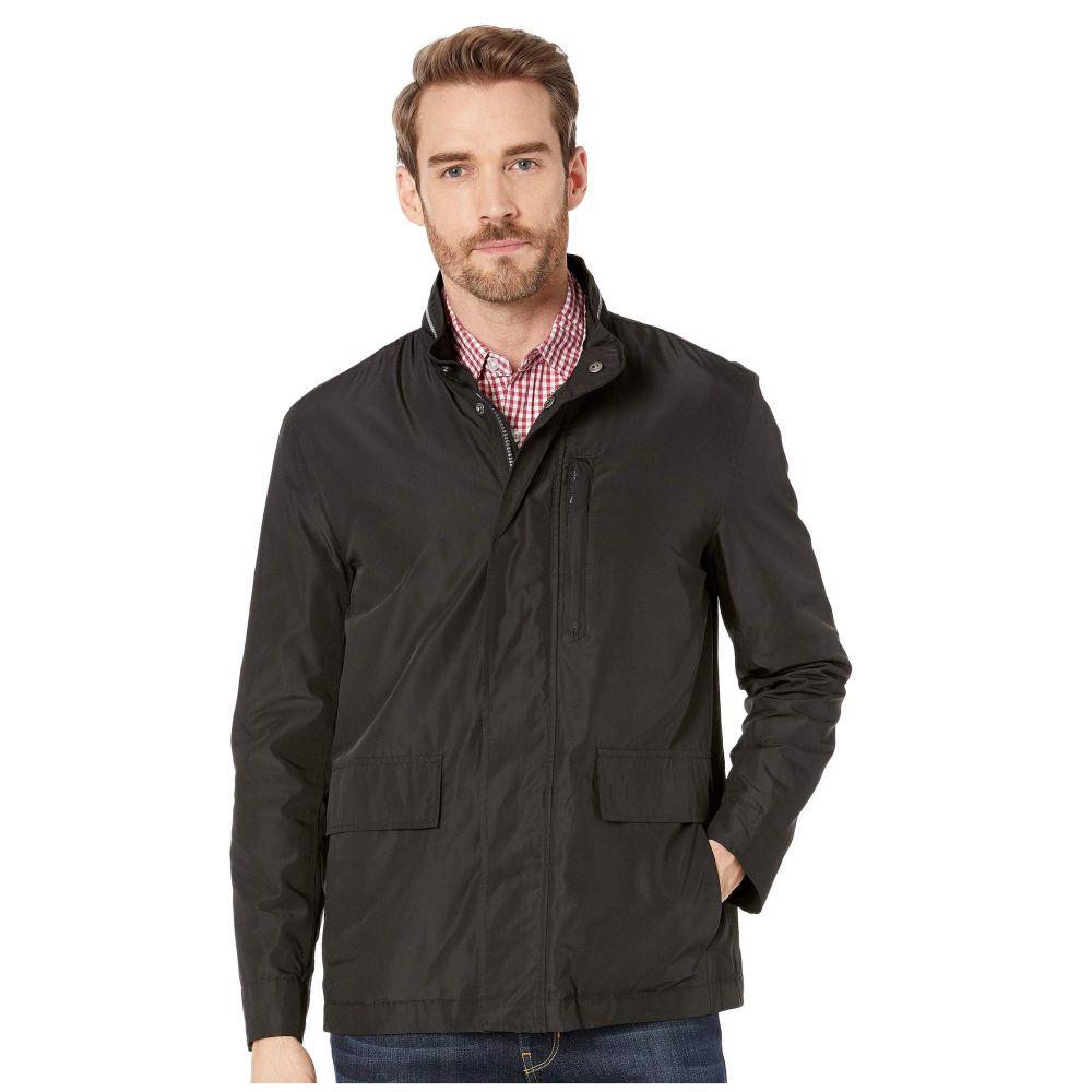 コールハーン Cole Haan メンズ アウター レインコート【Packable Rain Jacket with Stand Collar】Black