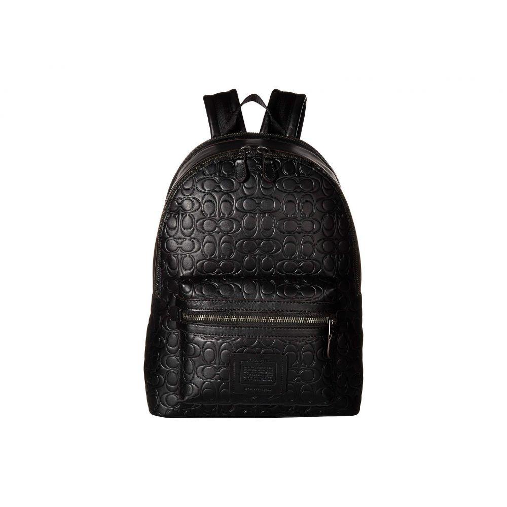 コーチ COACH メンズ バッグ バックパック・リュック【Academy Backpack in Signature Leather】Black
