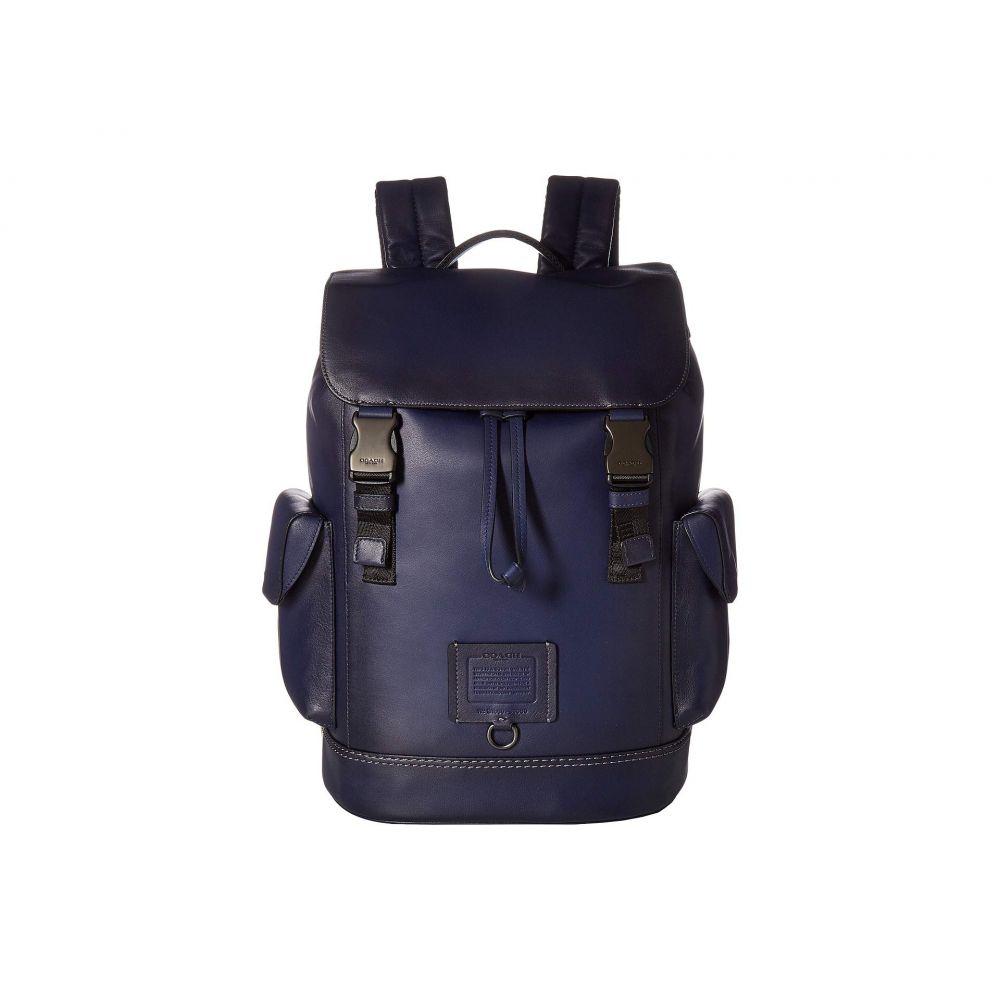 コーチ COACH メンズ バッグ バックパック・リュック【Rivington Backpack in Soft Grain Leather】Blue