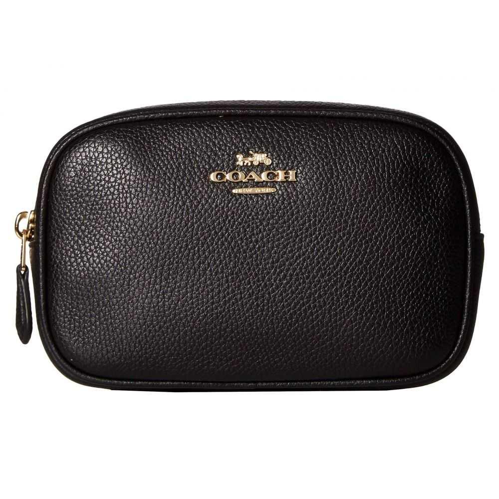 0e505c8a9952 コーチ COACH レディース バッグ ボディバッグ・ウエストポーチ【Polished Pebble Dressy Belt  Bag】Black/Gold Bag】Black/Gold Bag】Black/Gold 035