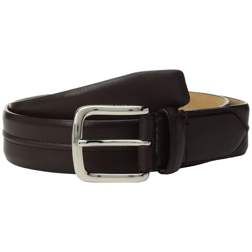 コールハーン Cole Haan メンズ ベルト【35 mm Leather Belt with Trapunto Detail】Chestnut