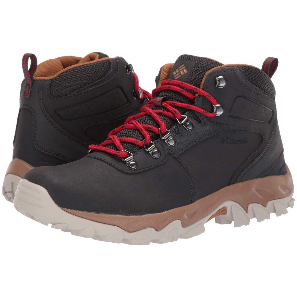 コロンビア Columbia メンズ ハイキング・登山 Red シューズ II・靴【Newton Columbia Ridge(TM) Plus II Waterproof】Shark/Mountain Red, アッケシチョウ:e7ace319 --- sunward.msk.ru